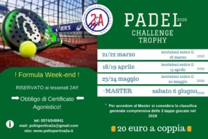 scarica date date padel challenge trophy